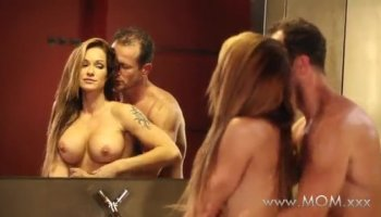 Sara Luvv takes her man through a 69 and a reverse cowgirl ride before letting him pound her